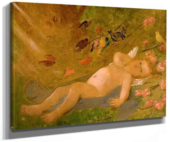 Cherub By Leon Jean Basile Perrault