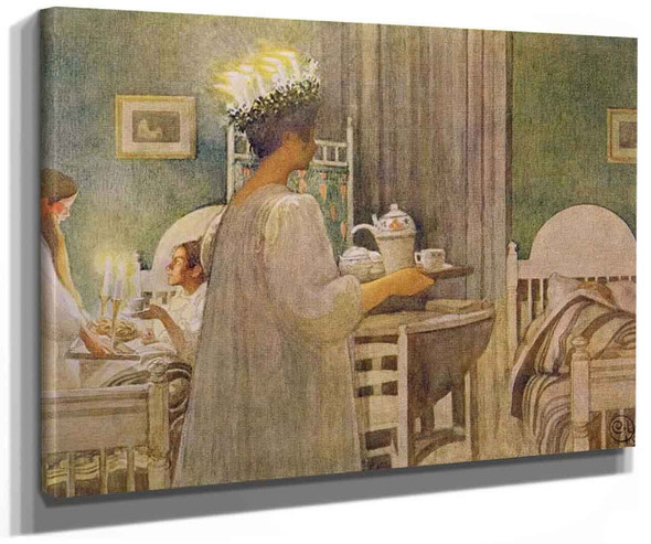 Christmas Morning . By Carl Larssonv