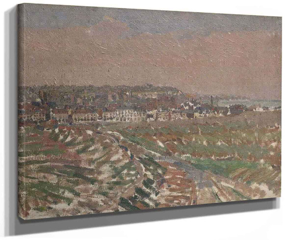 Dieppe From The West By Harold Gilman