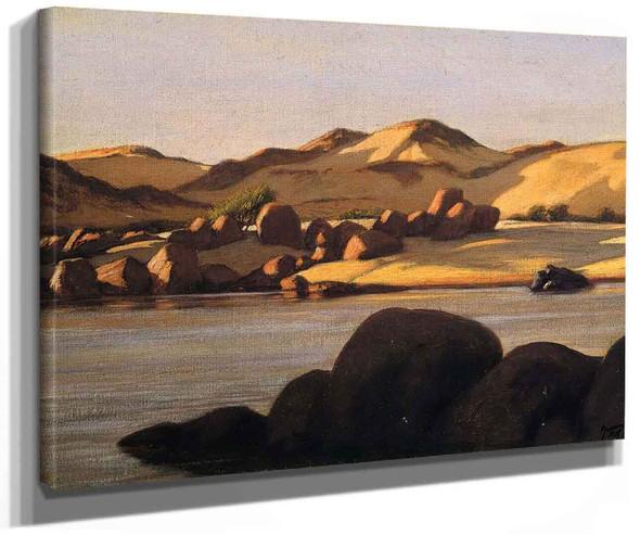 Egyptian Nile By Elihu Vedder