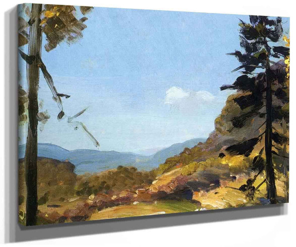 Evening Hills Catskill Mountains By George Wesley Bellows