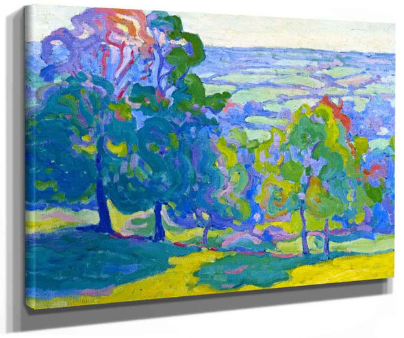 Evening In The Culme Valley By Robert Bevan