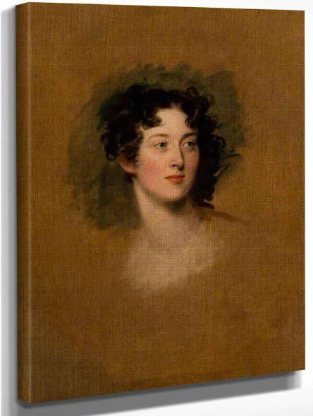 Elizabeth Thynne, Countess Cawdor By Sir Thomas Lawrence
