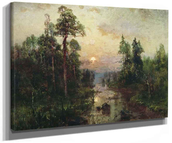Evening By Julius Klever