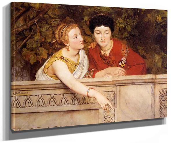 Gallo Roman Women By Sir Lawrence Alma Tadema