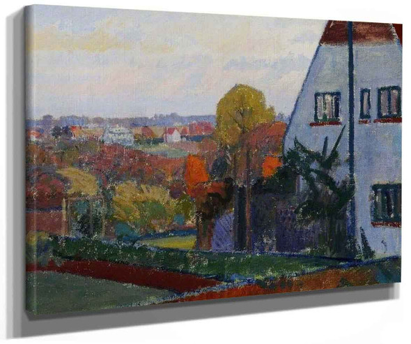 Harold Gilmans House At Letchworth Hertfordshire 1 By Spencer Gore