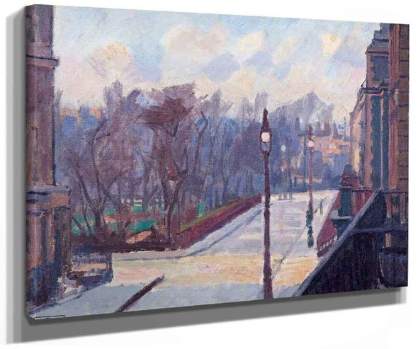 Harrington Square From No.2 Houghton Place By Spencer Gore
