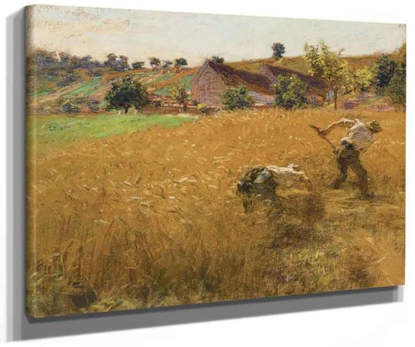 Harvest 1 By Leon Augustin Lhermitte
