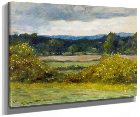 In My Fields By Hubert Von Herkomer