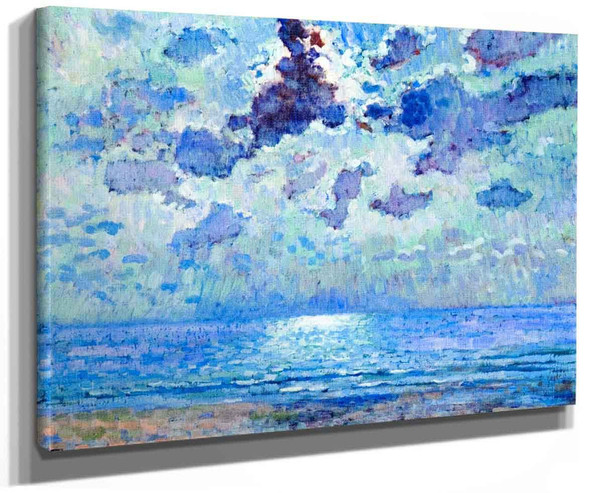 Jersey 1907 Moonlight By Theo Van Rysselberghe