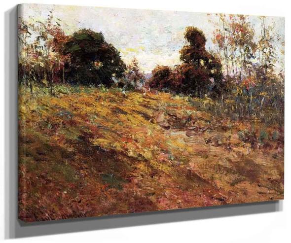Kentucky Autumn By Paul Sawyier