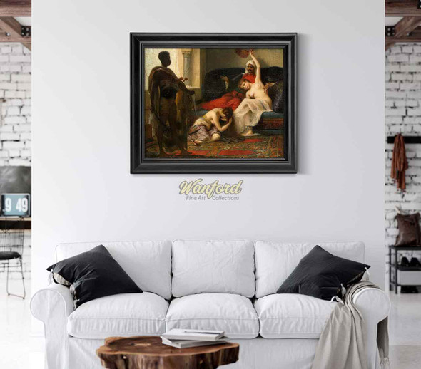 La Favorite Dechue (The Deposed Favourite) By Fernand Cormon
