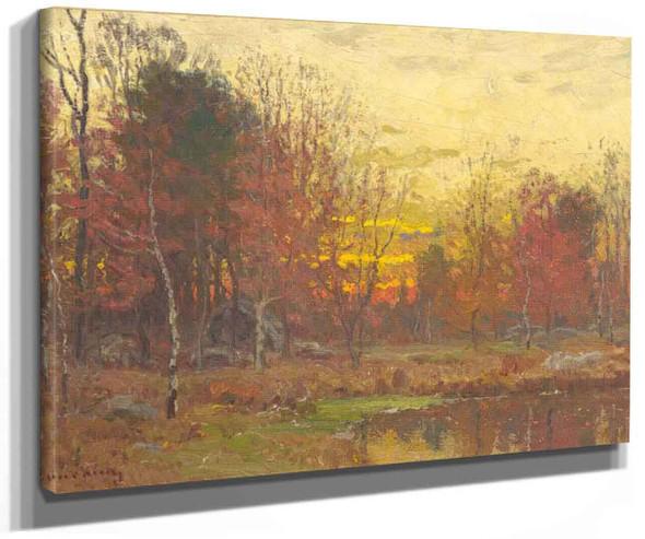 Landscape 1 By John Joseph Enneking