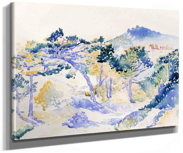 Landscape 2 By Henri Edmond Cross