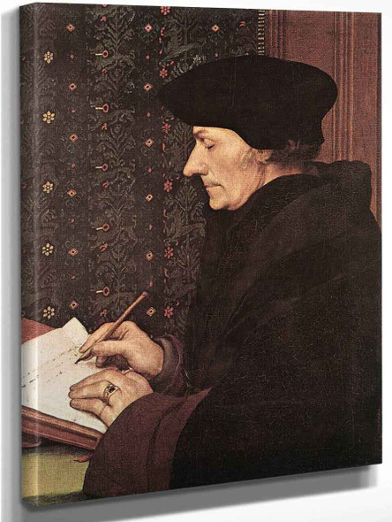 Erasmus By Hans Holbein The Younger  By Hans Holbein The Younger