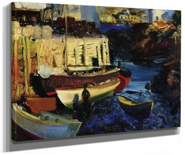 Matinicus Harbor Late Afternoon By George Wesley Bellows