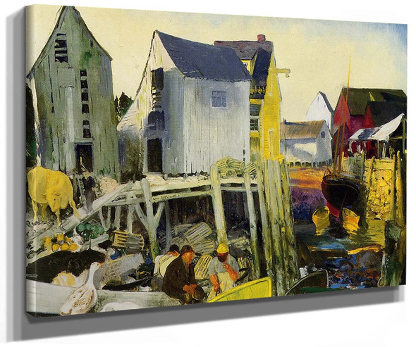 Matinicus By George Wesley Bellows