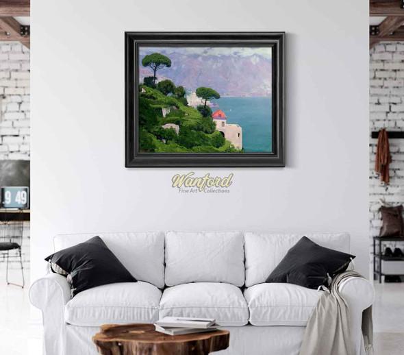 Mediterrean Landscape By Edward Okun