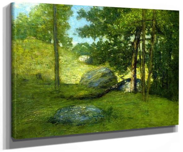 New England Meadow By Julian Alden Weir