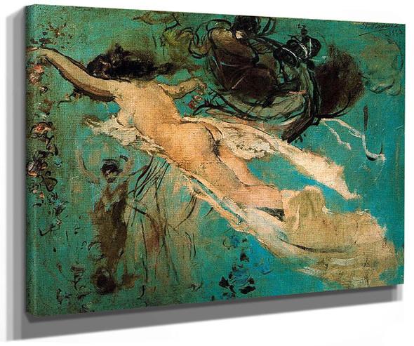 Nude By Ignacio Pinazo Camarlench