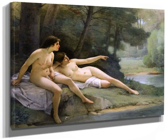 Nudes In The Woods By Guillaume Seignac
