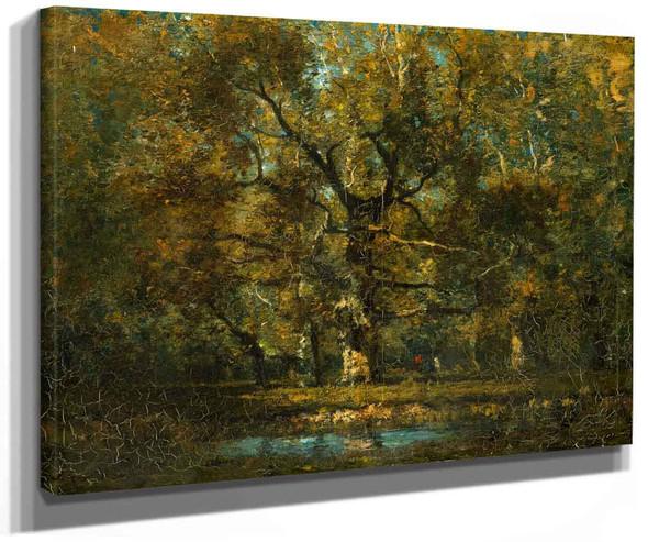 Oak Tree By Henry Ward Ranger