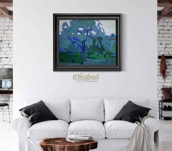 Orchard By Harold Gilman