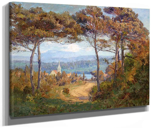 Oregon Pines By Theodore Clement Steele