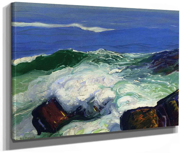 Out Of The Calm By George Wesley Bellows