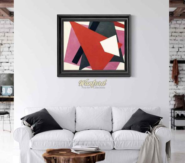 Painterly Architectonic 14 By Liubov Popova