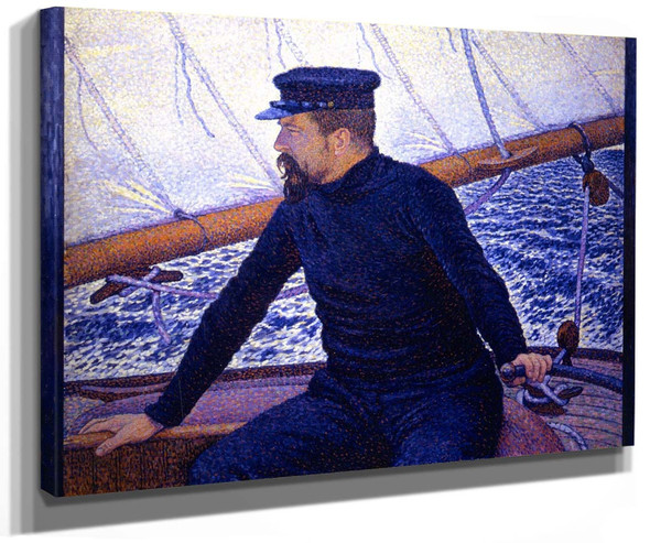 Paul Signac (At The Helm Of The Olympia) By Theo Van Rysselberghe