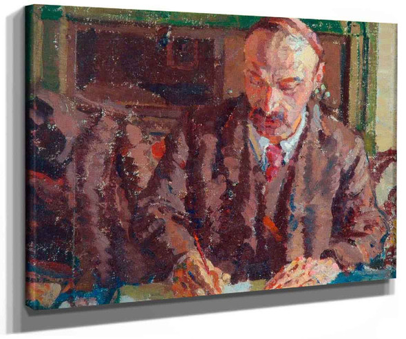 Portrait Of A Man. By Harold Gilman