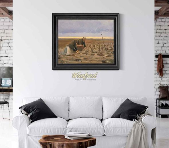 Potato Harvest By Michael Peter Ancher