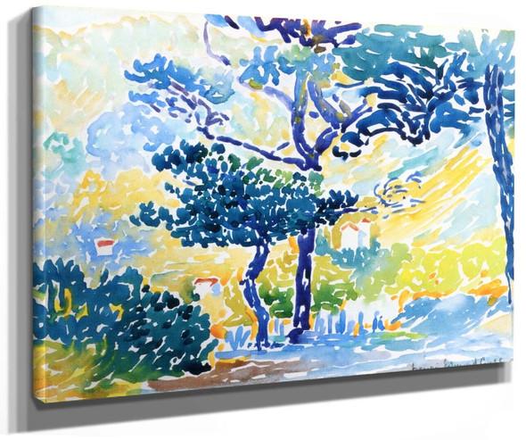 Provençal Landscape By Henri Edmond Cross