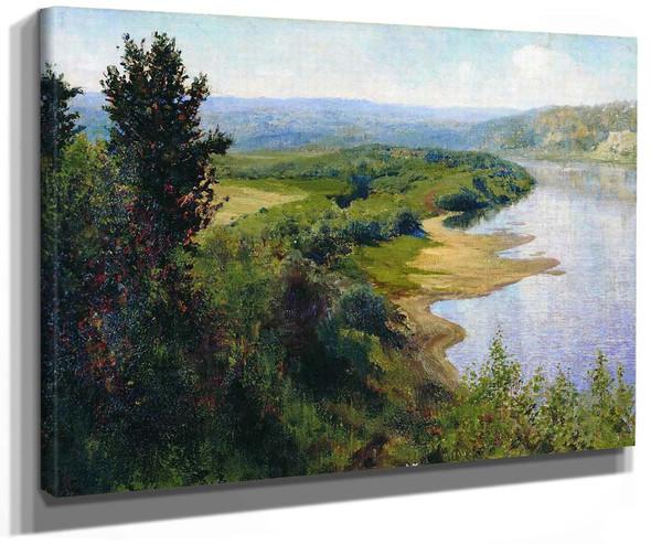 River By Vasily Polenov