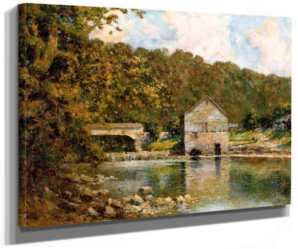 Rivermill By Paul Sawyier