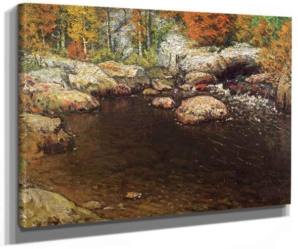 Rocky Pool By John Joseph Enneking
