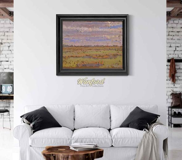 Romney Marsh 1 By Harold Gilman