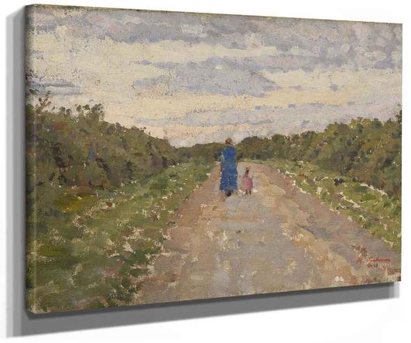 Romney Marsh By Harold Gilman