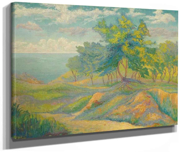 Seascape At Charente By Paul Ranson