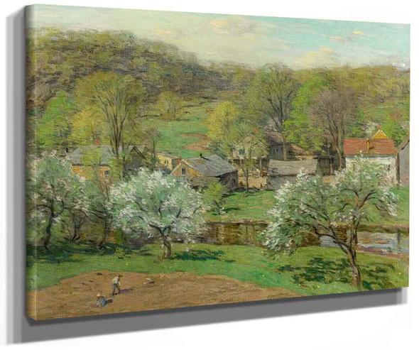 Spring Planting By Willard Leroy Metcalf