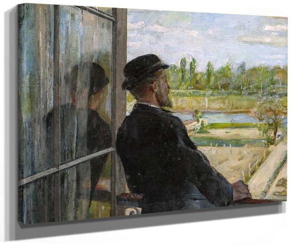Spring The Painter Karl Nordström By Christian Krohg