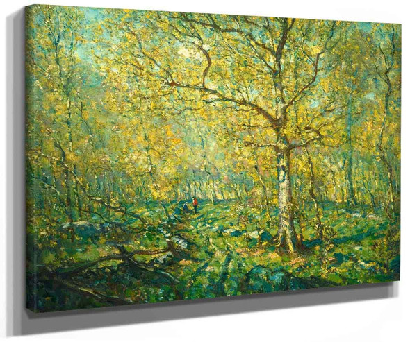 Spring Woods 1 By Henry Ward Ranger