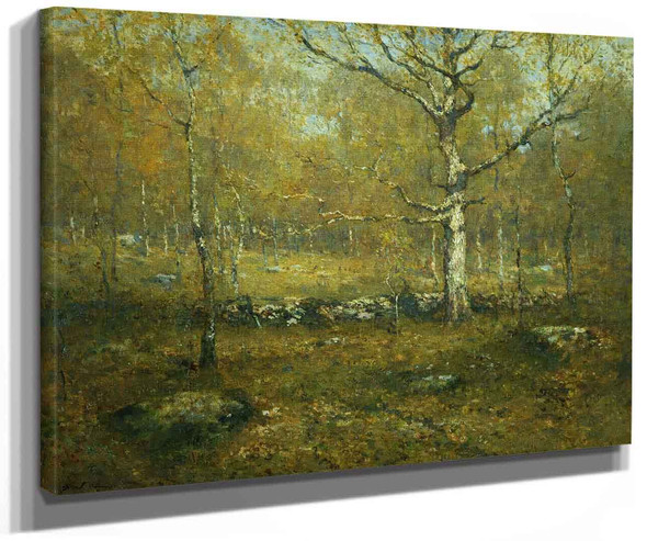 Spring Woods By Henry Ward Ranger