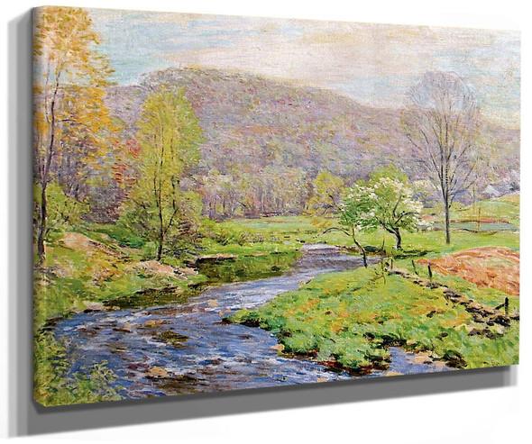 Spring By Willard Leroy Metcalf