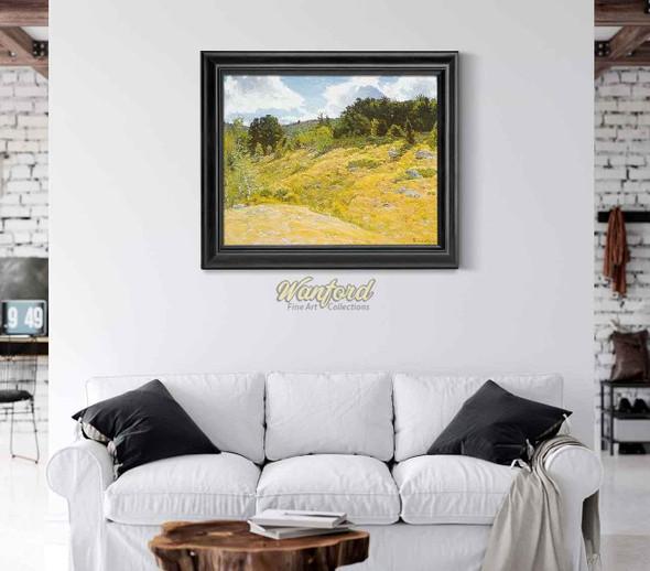 Summer Landscape By John Joseph Enneking