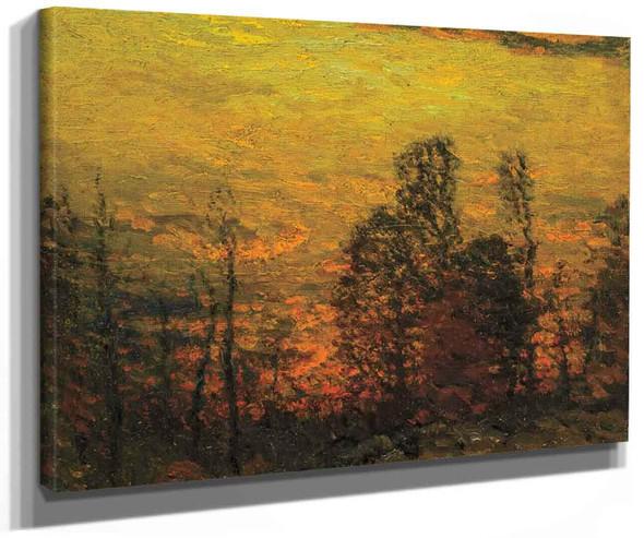 Sunlit Landscape By John Joseph Enneking