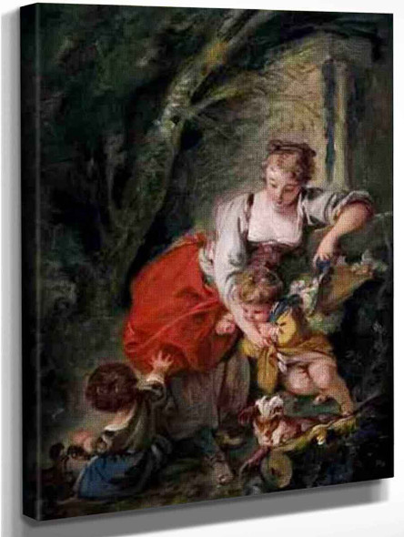 Family By Francois Boucher