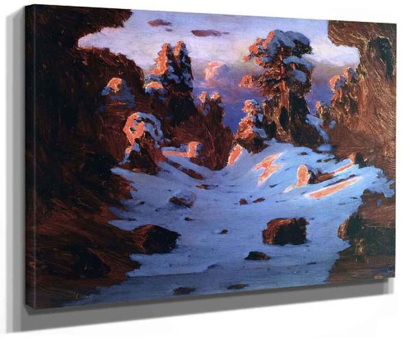 Sunset Effect By Arkhip Ivanovich Kuindzhi