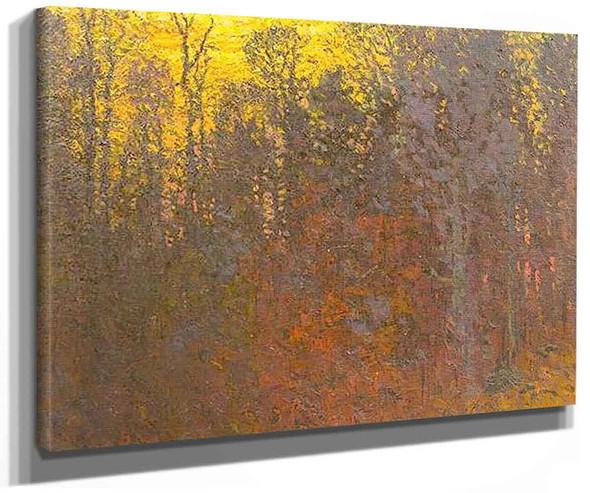 Sunset Glow By John Joseph Enneking